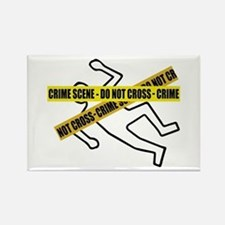 Crime Scene Tape Magnets