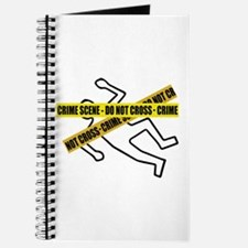 Crime Scene Tape Journal