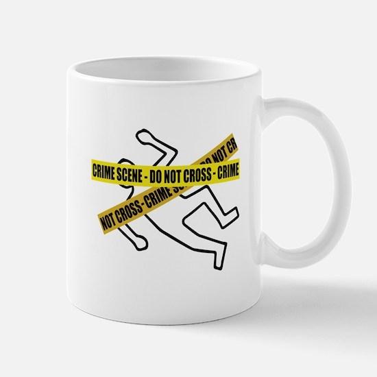 Crime Scene Tape Mugs