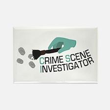 Crime Scene Investigator Magnets