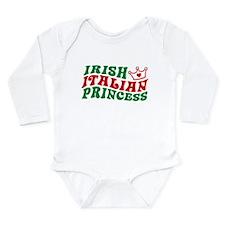 Cute Italian kids Long Sleeve Infant Bodysuit