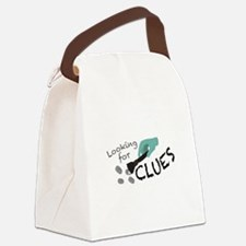 Looking For Clues Canvas Lunch Bag