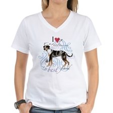 Unique Catahoula leopard dog art Shirt