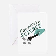Forensic Science Greeting Cards
