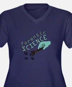 Forensic Science Plus Size T-Shirt