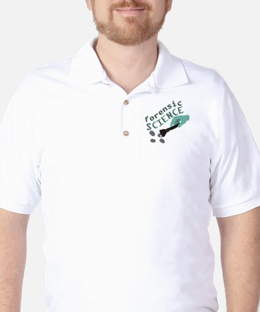 Forensic Science Golf Shirt