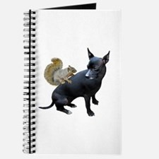 Squirrel on Dog Journal