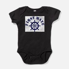 Funny Funny boating Baby Bodysuit
