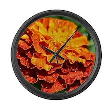 Cute Gardeners Large Wall Clock