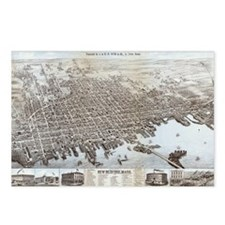 New Bedford, Mass Postcards (Package of 8)