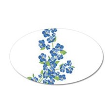 Forget me nots Wall Decal