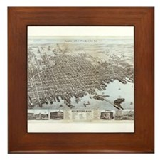 New Bedford, Mass Framed Tile