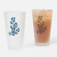 Forget me nots Drinking Glass