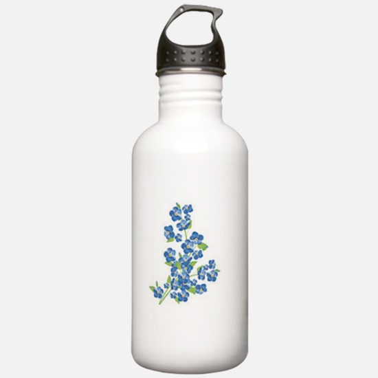 Forget me nots Water Bottle