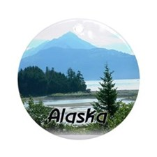 Alaska the Great Land Ornament (Round)