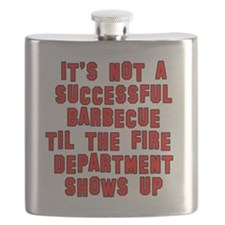 BBQ Grill Humor Flask