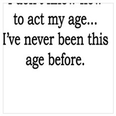 Acting My Age Poster