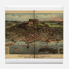 High Rock, Lynn, MA Tile Coaster