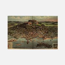 High Rock, Lynn, MA Rectangle Magnet (100 pack)