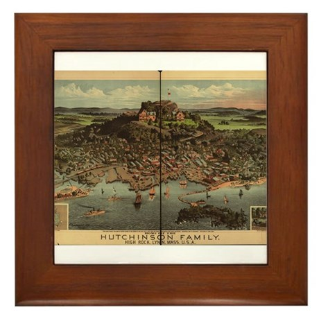 High Rock, Lynn, MA Framed Tile