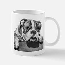 Bulldog Head Vintage-1 Mug