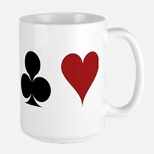 Four Card Suits Mugs