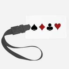 Four Card Suits Luggage Tag
