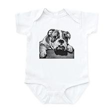 Bulldog Head Vintage-1 Infant Creeper