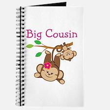 Monkeys Girl Big Cousin Journal