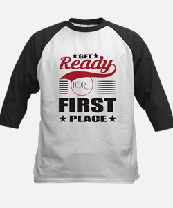 Get Ready for First Place Baseball Jersey