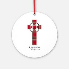 Cross-Cummins.Cumming Round Ornament