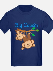 Boys Monkeys Big Cousin T