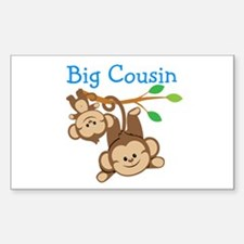 Boys Monkeys Big Cousin Decal