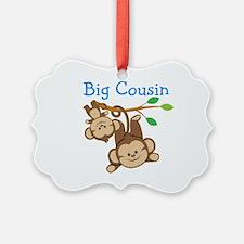 Boys Monkeys Big Cousin Ornament