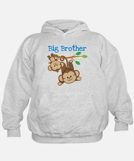 Boys Monkeys Big Cousin Hoodie