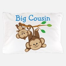 Boys Monkeys Big Cousin Pillow Case