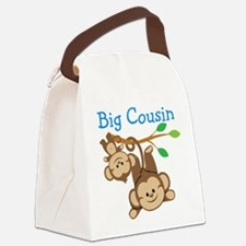 Boys Monkeys Big Cousin Canvas Lunch Bag