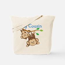 Boys Monkeys Big Cousin Tote Bag
