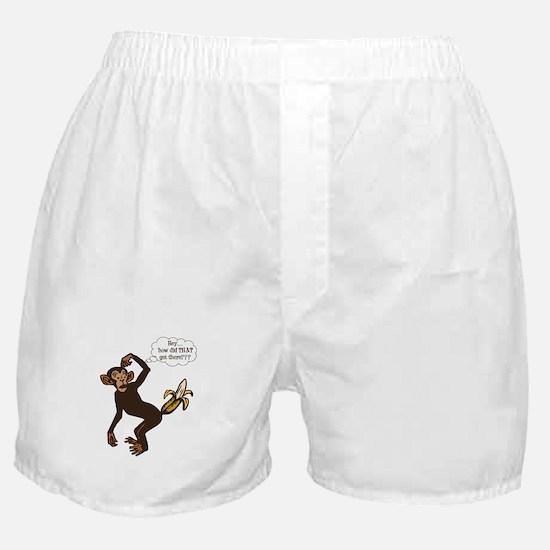 Confused Monkey Boxer Shorts