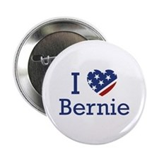 "I Love Bernie 2.25"" Button"