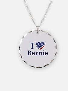 I Love Bernie Necklace