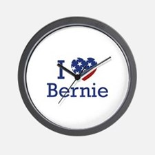 I Love Bernie Wall Clock
