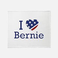 I Love Bernie Stadium Blanket