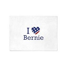 I Love Bernie 5'x7'Area Rug