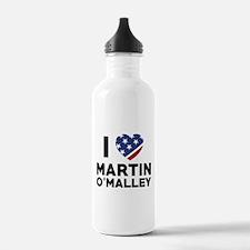 I Love Martin O'Malley Water Bottle
