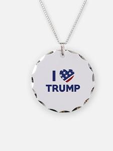 I Love Trump Necklace