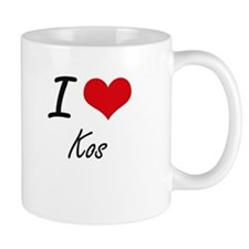 I Love Kos Mugs