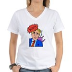 WTF Women's V-Neck T-Shirt
