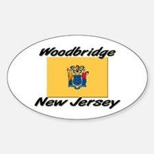 Woodbridge New Jersey Oval Decal