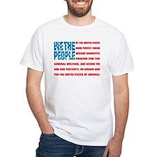 Cute Red white blue flag Shirt
